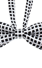 עניבה קטנה בדוק תבנית bowknot צוואר בחתולים בכלבי מחמד (צוואר: 26-38 סנטימטר)