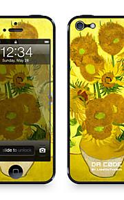 """Da-Code ™ Skin für iPhone 4/4S: """"Sonnenblumen"""" von Vincent van Gogh (Masterpieces Series)"""