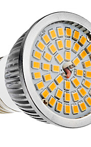 E27 6W 48x2835SMD 580-650LM 2700-3500K Warm White Light LED spot pære (110-240V)
