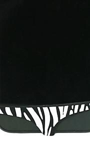 아이폰 4/4S/5위한 얼룩말 줄무늬 비키니 패턴 버튼 커버