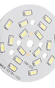 9W 900LM 18x5630SMD 6300K Hvit LED Module (29-32V)