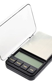 "2.4"" LCD Portable Jewelry Digital Pocket Scale - 200g/0.01g (2xAAA)"