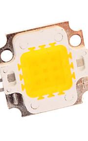 10W 650LM Varm hvit LED Emitter Metal Plate (10-11V)