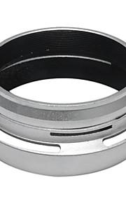 Filtro Anel Adaptador + Lente para Fujifilm X100 Fuji Substitua prata LH-X100