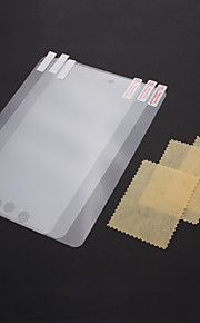 5 Pieces Packed Anti-ultraviolet and Washable 97% High Transparent Screen Protector with Cleaning Cloth for iPad mini
