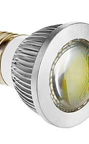 e26 / e27 3 w en cob 270-300 lmcool / varme hvite spotlights ac 85-265 v