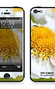 """Da Code ™ Skin voor iPhone 5/5S: """"Kleine Madeliefjes"""" (Planten-serie)"""