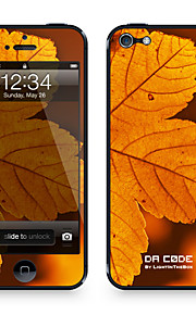 "Codice Da ™ Pelle per iPhone 4/4S: ""Autumn Leaf"" (Piante Series)"