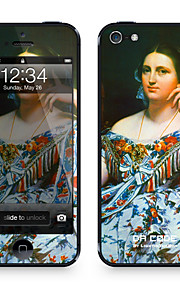 """Da Code ™ Skin for iPhone 5/5S: """"Madame Moitessier"""" by Dominique Moitessier (Masterpieces Series)"""