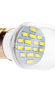 7W E26/E27 LED-globepærer 16 SMD 5630 610 lm Kjølig hvit AC 220-240 V