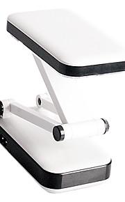 2w 24-ledede hvitt lys oppladbart fold eyeshield leseplaten bordlampe