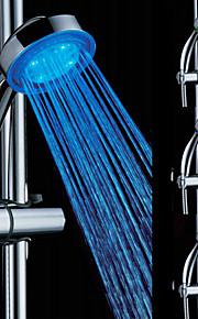 3-fargetemperatur Sensitive LED fargeendringen ABS hånddusj