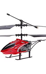 JJ 2,5 Canal MiniRemte helicóptero de controle com giroscópio, diodo emissor de luz e substituível Canopy amarela