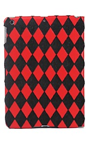 Quiltning Mönster Flockning Material Full Body Case för iPad Air