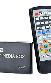 08H 1080P Multi-Media Player w / HDMI / USB / AV - Preto