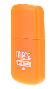 2.0 Micro SD Memory Card Reader USB (laranja)