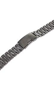 Masculino Feminino Pulseiras de Relógio Aço Inoxidável #(0.067) Acessórios de Relógios