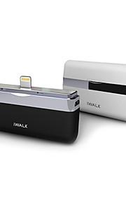 iWalk DBL1000i5 1000mAh externt batteri för iPhone 5S