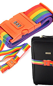 Outdoor Rainbow Style Coded Lock(Random Color)