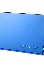 8000mAh multi-output externe batterij met zaklamp voor iPhone 6/6 plus / samsung S4 / S5 / note2