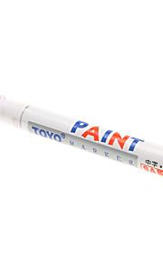 New Universal Waterproof Permanent Motorcycle Car Tyre Tread Rubber Paint Marker Pen