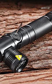 Lanterner & Telt Lamper LED 3 Tilstand 900 Lumens Vanntett / Genopladelig / selvforsvar Cree XM-L U2 14500 / AA Multifunktion - Andre ,