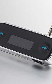 Universal Recharge Fashionable Small In-car Fm transmitter