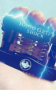 Chok-You-Friend Electric Shock Spring Hand Grip Pinch Meter practical joke Gadgets (tilfældig farve)