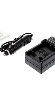 ismartdigi-Samsung SLB-0837B 860mAh, 3,7 V camera batterij + autolader voor Samsung L301 L70 L83T NV20 NV15