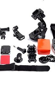 G-112 Full GoPro tilbehør mere billig Holder Bracket Basic Kit For Gopro Hero 2/3/3 +