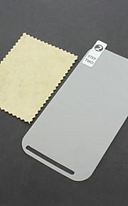 LCD Screen Protector con panno di pulizia per HTC One SV