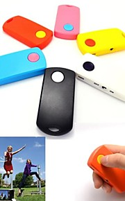 Portable Universal Remote Shutter Sopra 10M distanza senza fili Bluetooth per iPhone e IOS Phone