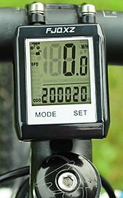 Bike Computer,FJQXZ Waterproof Wireless LCD Black Bicycle Speedometer/Stopwatch