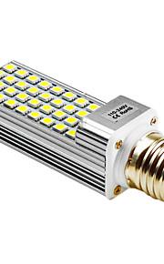 5W G24 / E26/E27 LED-kornpærer T 36 SMD 5050 400 lm Varm hvit / Naturlig hvit AC 100-240 V