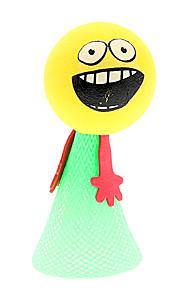 Fem PCS Farverige Bounce Jumping legetøj til børn