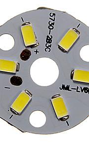 3W 250-300LM Cold White Light 5730SMD integrert LED-modul (9-12V)