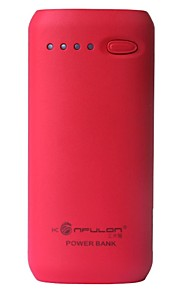 Konfulon ® 5200mAh USB Power Bank för iPhone m.fl.