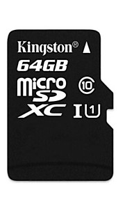 Kingston 64GB Class 10 MicroSDXC SDHC Memory Card UHS-1