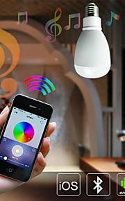 9W E26/E27 LED-globepærer A60(A19) 45 SMD 5630 800 lm Dimbar / Fjernstyrt / Sensor / Dekorativ AC 85-265 V