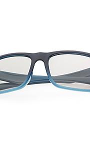 M&K Polarized Light Patterned Retarder 3D Glasses for 3D TV (Blue)