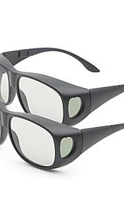 M&K Polarized Light Thicken 3D Glasses for Imax 3D Film (2Pcs)