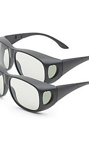 M&K General Polarized Light Patterned Retarder Thicken 3D Glasses for TV (2Pcs)