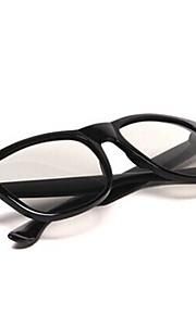 Le-Vision Polarized Light Side by Side Patterned Retarder 3D Glasses for Cinema and General 3D TV