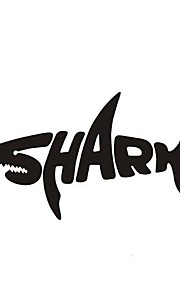 Cool Car Sticker Shark Personality
