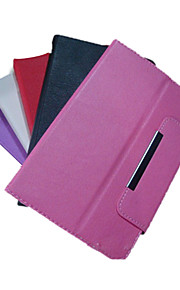 Solid Color PU Leather Case with Magnet for Kindle Fire HD