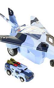militære 1/90 luftfartøjer skala jetjager rc bil legetøj (tilfældig farve)