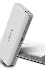 아이폰 6/6 플러스 / 5 / 5S / 삼성 S4 / S5 / 주 2 (흰색)에 대한 romoss 10400mah 범용 전원 은행 외부 배터리
