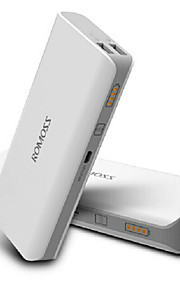 romoss 10400mah universalströmbank externt batteri för iPhone 6/6 plus / 5 / 5s / samsung S4 / S5 / note2 (vit)