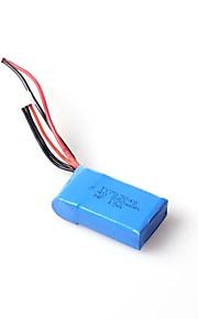 wl legetøj tilbehør 7.4V 850mAh jsj stik lipo batteri til WL v912 rc heliopter l959 / l979 4wd rc hobby buggy bil