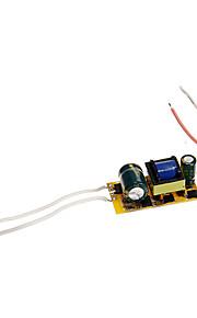 0.3A 4-7w dc 12-22v til intern konstant strøm strømforsyning driver ac 85-265V for LED spotlights